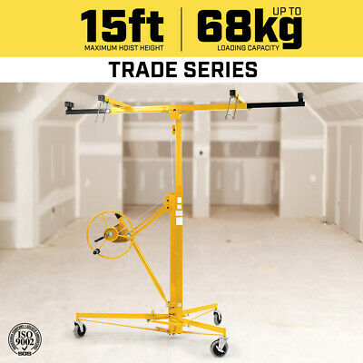 15ft Plasterboard Lifter Plaster Drywall Sheet Panel Lift Gyprock Board Hoist