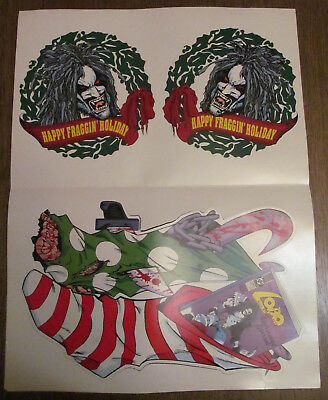Lobo 1991 Christmas promotional punch outs! Lobo Paramilitary Christmas Special