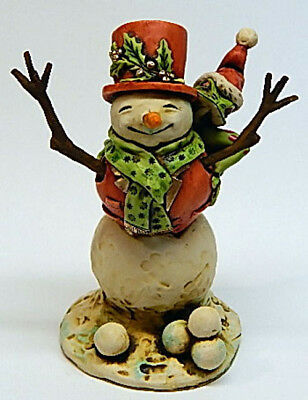 Neil Eyre Designs Christmas Holiday Frosty Style Snowman Tree Frog Santa LE