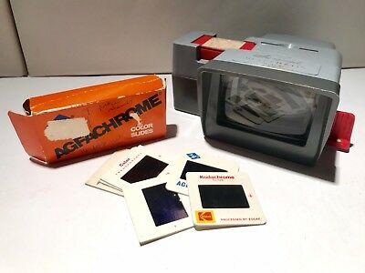 Vintage AIREQUIPT Ultramatic Magazine Slide Viewer Model W2 1960S PHOTOGRAPHY