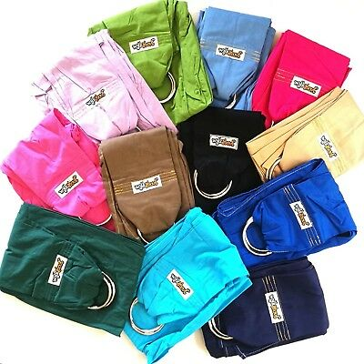 NEW WALKABOUT Baby Ring Sling Carrier Pouch Wrap 5 Position Various Colours