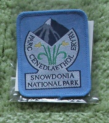 Snowdonia National Park (Wales) Embroidered Patch 1987