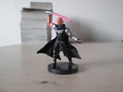 Star Wars Miniature Darth Bane, Very Rare, Champions of the Force 10/60, w/ Card