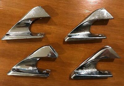 International Scout II Roof Luggage Rack Ends Set of 4