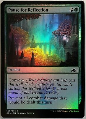 4x Pause for Reflection MTG Guilds of Ravnica NEW