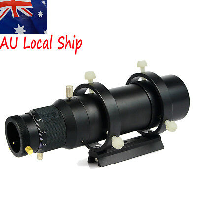 """50mm Compact CCD Imaging Guide Scope 1.25"""" Double Helical Focuser +Track AU Ship"""