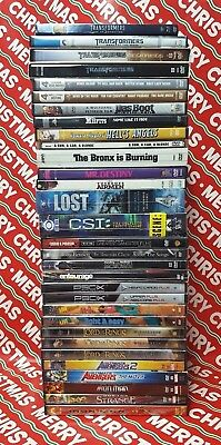 LOT 30+ DVD BLU RAY Lot Marvel Action Animated TV Shows Box Sets SOME NEW Drama