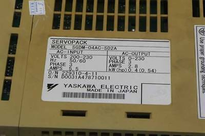 1PC New Yaskawa servo driver SGDM-04AC-SD2A #RS19