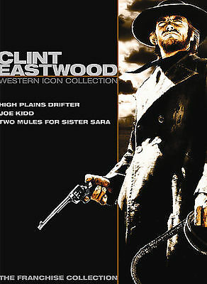 Clint Eastwood: Western Icon Collection (DVD, 2007, 2-Disc Set) Sealed Free Mail