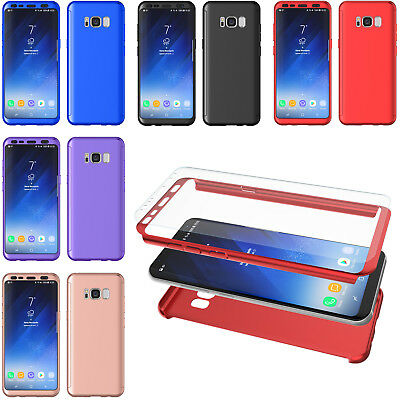 For Samsung Galaxy S8 360 Protection Full Body Shockproof Case Slim Fitted Cover