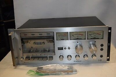 Vintage Pioneer CT-F700 Stereo Cassette Recorder