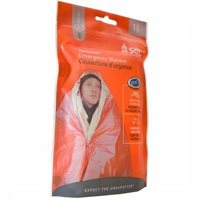 Camping SOL Heatsheets® Emergency Survival Space Blanket 0140-1222