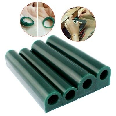 Green Carving Wax Flat Top Ring Tube Jewellery Lost Wax Casting Injection Tool