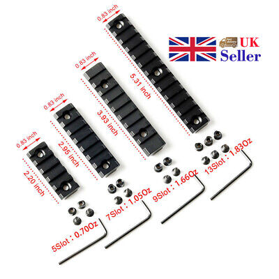 4 Sizes Tactical Picatinny Rail Handguard Section Set For Keymod Handguard UK