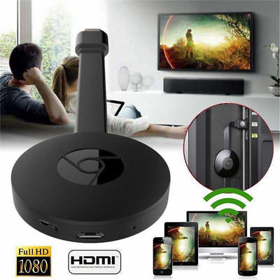 Google Chromecast 2.Generation Wireless WIFI HDMI Dongle 1080P TV Stick Receiver