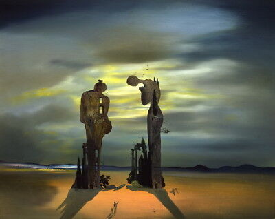 Salvador Dali Virtual Reality Giclee Art Paper Print Poster Reproduction