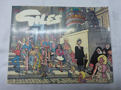 Giles 37th Cartoons Book Thirty Seventh Series- Express (Paperback,1983)