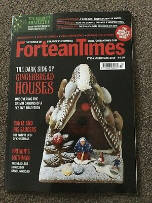 Fortean Times Magazine Issue 374 Christmas 2018
