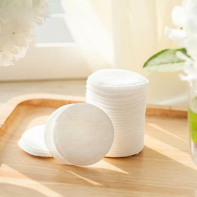 50/100Pcs 6 cm Round Cosmetic Cotton Pads Face Cleanser Pad Remover Wipe Tool AU