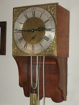 longcase clock movement circa 1750s