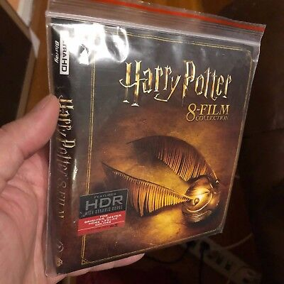 Harry Potter Blu-ray Collection - Region B - Real cheap!