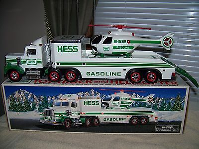 1995 HESS Truck & Helicopter (Mint with Box!!)