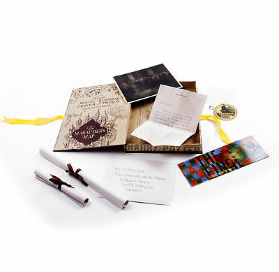 Harry Potter Film Artefact Box - A Trove of Replica Harry Potter Documents and K
