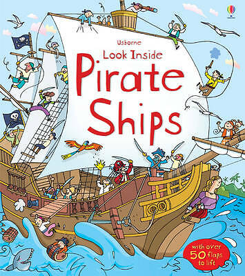 Look Inside a Pirate Ship by Minna Lacey (Hardback, 2013)