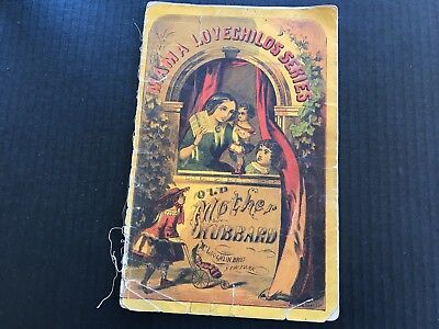 Old Mother Hubbard McLoughlin Bros Mama Lovechilds Series