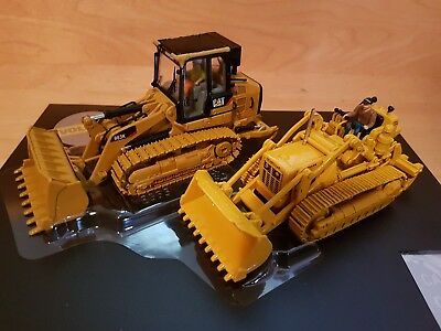 CAT CATERPILLAR 977D Traxcavator & 963K Track Loader 1/50