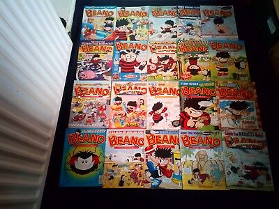 The Beano Comic Joblot X 20 Vintage/Retro From 2002-2004