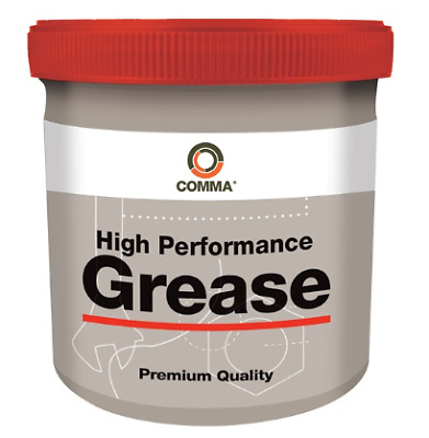 BG2500G Comma High Performance Bearing Grease - 500g Tub
