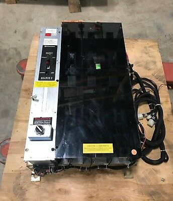 600 Amp GE Zenith Automatic Transfer Switch | S/N: 1512820