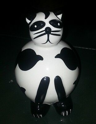 Lorna Bailey SNOWBALL the CAT FREE P&P Excellent condition %