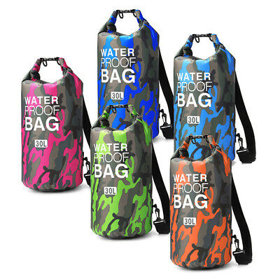 Waterproof Dry Bag Holder Pouch For Canoe Boating Kayaking Camping Backpack Tool