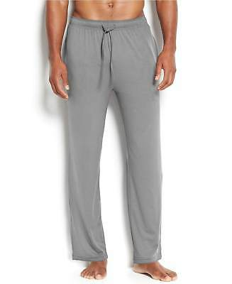 $86 32 DEGREES COOL Mens PAJAMAS PANTS Gray Black Plaid LOUNGE SLEEPWEAR Size L