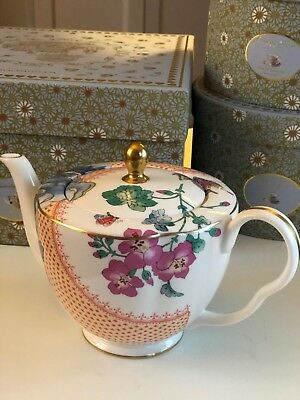 Wedgwood Butterfly Bloom Teapot Large Teekanne groß
