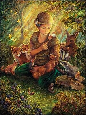 Leanin Tree Birthday Greeting Card Forest Friends Josephine Wall