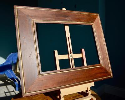 "SUPERB ANTIQUE VICTORIAN PICTURE FRAME 14"" X 10"" REBATE v ARTS & CRAFTS GEORGIAN"