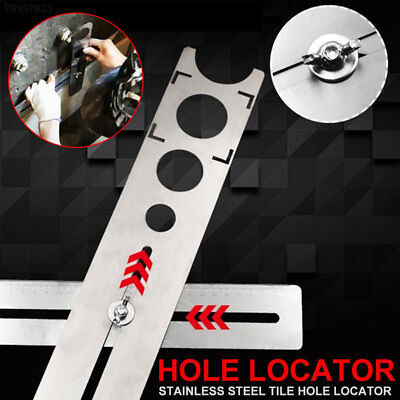 4044 Practical Borehole Locator Stainless Steel Portable Tile Locator Puncher