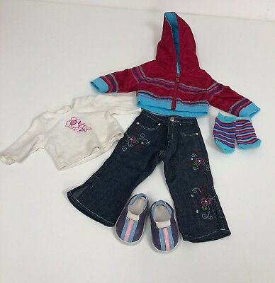 Genuine American Girl Ready For Fun Outfit Outfit VGC. Boxed!