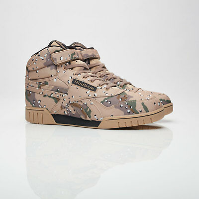 Reebok Classic x MAJOR Ex-O-Fit Hi CN Sizes 5-10 Camo RRP £100 BNIB BS7311 RARE