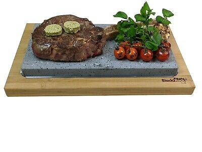 Hot Cooking Stone Steak Rock Sharing Hibachi Table Top Grill Sizzling Plate