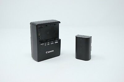 Genuine CANON LP-E6 Battery and LC-E6 Charger Free Shipping USA