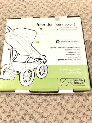 Mountain Buggy Freerider Connector 2 New