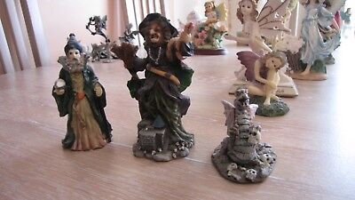 3 Dragontale Figurines