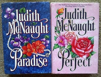 Judith McNaught - PARADISE and PERFECT - Hardcovers