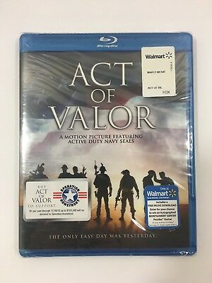 Act of Valor (Single Disc) Blu-Ray BRAND NEW SEALED