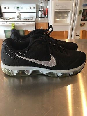 681e2775d3b04 Nike Tailwind 7 Black Silver Running Shoes Men s Size 11 Preowned