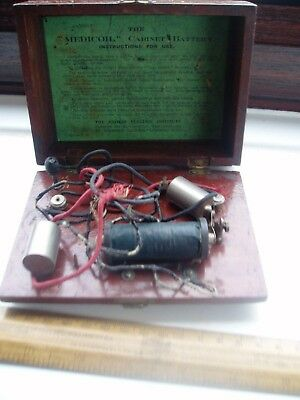 Vintage Electric Therapy Box 1926 Patent